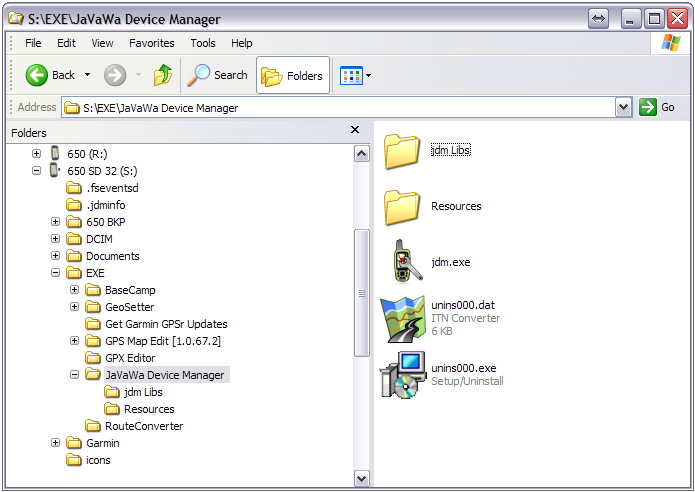 GPSrChive Montana - Portable Applications