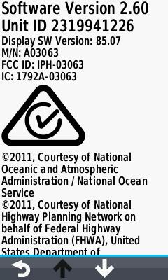 GPSrChive Oregon 7x0 - Firmware